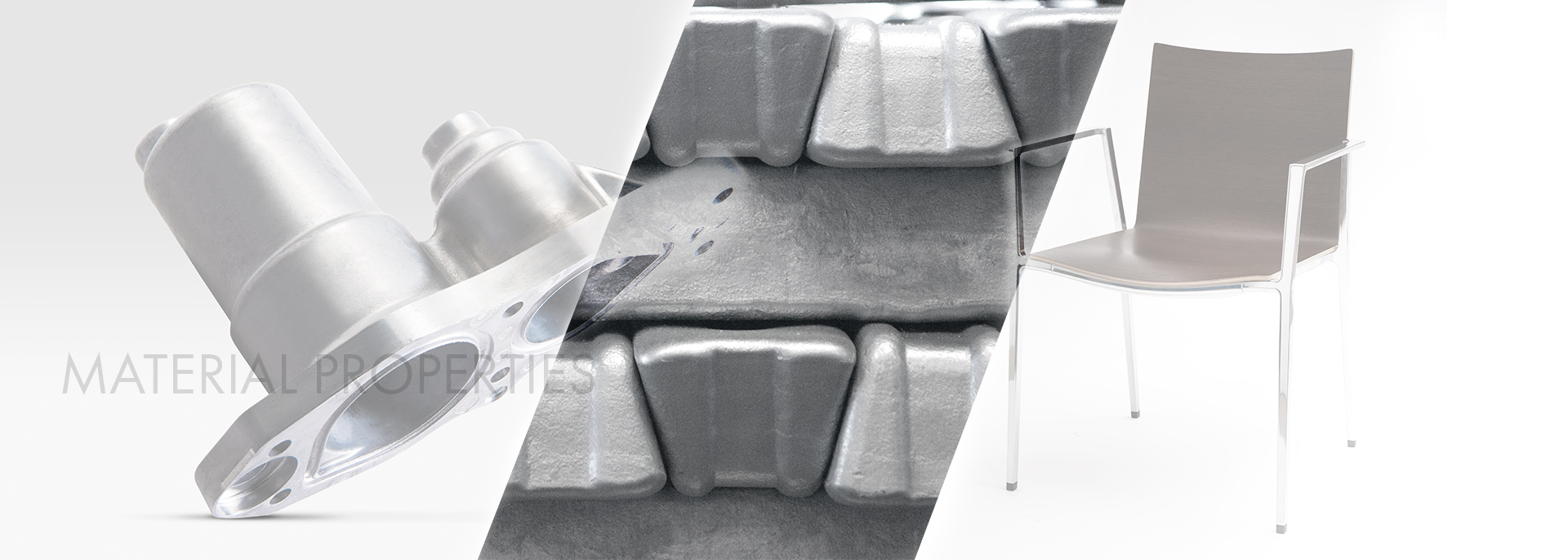 Material properties for aluminium