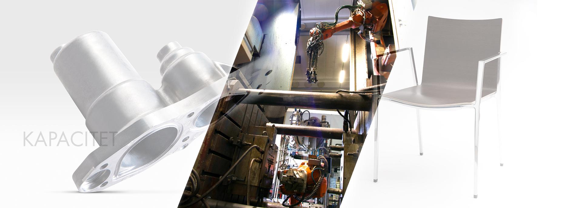 Förutom pressgjutning i aluminium tar vi hand om efterbehandling såsom borrning, gängning, slipning, polering och ytbehandling.